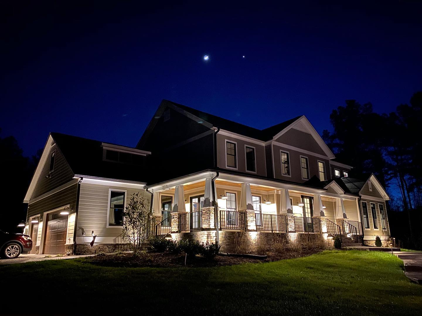 Elegant outdoor lighting solutions from Livewire.