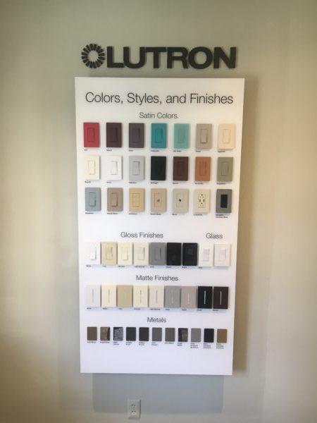 Custom Lutron Wall Switches
