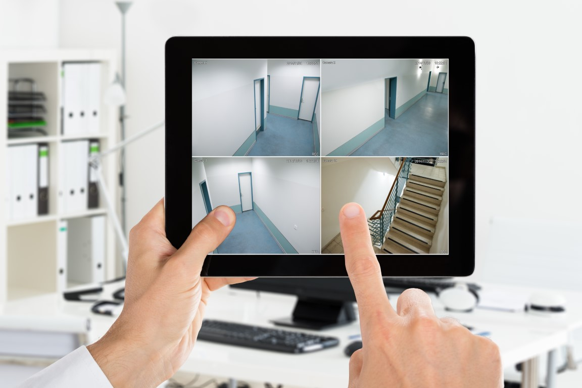 high-quality video footage for business security systems