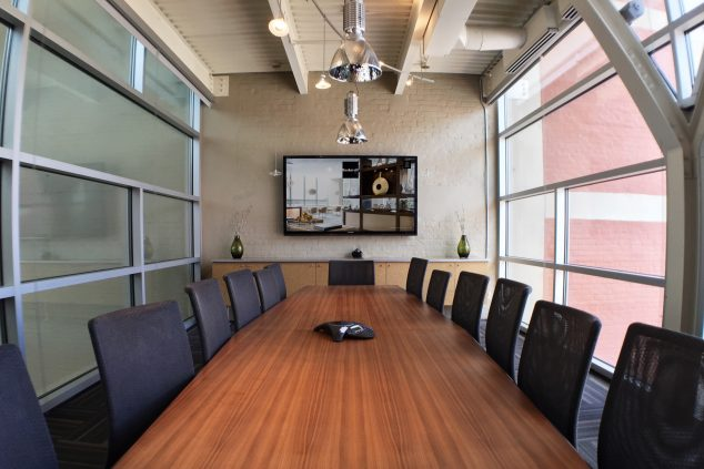 Video conferencing system installation